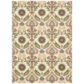 Waverly Global Awakening Ivory/ Pear Rug (5' x 7')