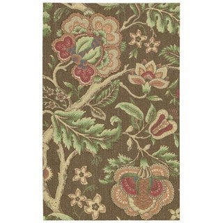 Nourison Waverly Global Awakening Chocolate Rug (5'x7')