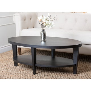 Abbyson Living Manchester Espresso Coffee Table