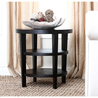 Abbyson Living Manchester Espresso End Table