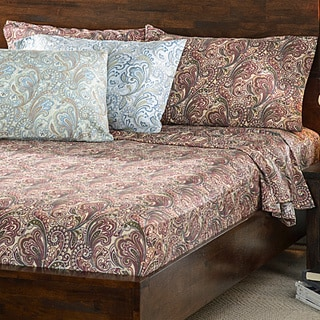 300 Thread Count Cotton Lindsey Paisley Sheet Set