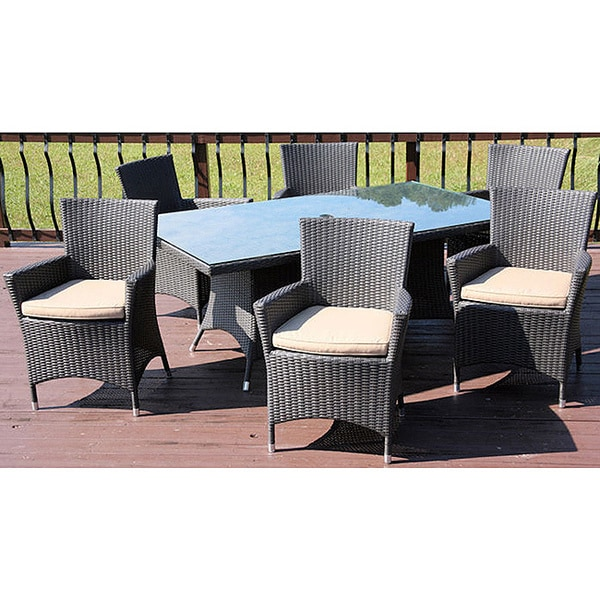 Outdoor Patio Furniture Savannah Ga: Savannah Outdoor Classics Chelsea 7-piece Patio Dining