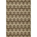 Flat Weave Brown Sorrel Rug (2'x3')