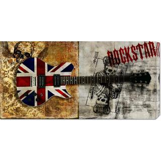 Steven Hill 'Rockstar' Stretched Canvas