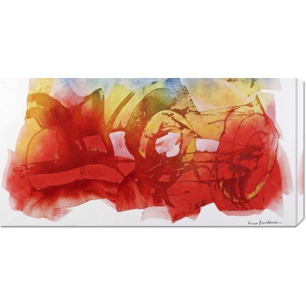 Nino Mustica 'Venerdi 12 marzo 2010 B' Stretched Canvas