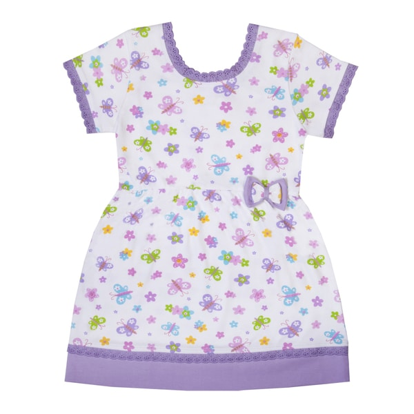 Funkoos Butterfly Garden Organic Cotton Dress