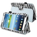 BasAcc Zebra Leather Case with Stand for Samsung� Galaxy Tab 3 7.0