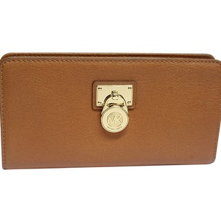 Michael Kors Hamilton Large Zip Around - Luggage