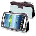 BasAcc Flower Leather Case with Stand for Samsung Galaxy Tab 3 7.0