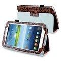 BasAcc Leopard Leather Case with Stand for Samsung� Galaxy Tab 3 7.0