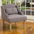 Christopher Knight Home Bernadette Taupe Fabric Club Chair