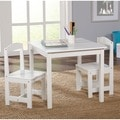 White 3-piece Hayden Kids Table/Chair Set