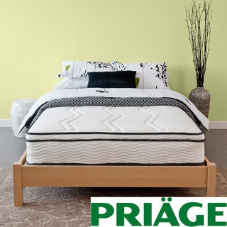 Priage Hybrid 11-inch Euro Box Top Queen-size Memory Foam and iCoil Mattress