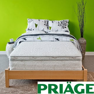 Priage Hybrid 11-inch Euro Box Top Twin-size Comfort Gel Memory Foam and iCoil Mattress