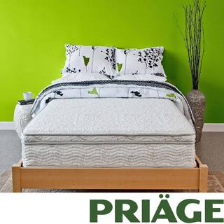 Priage Hybrid 11-inch Euro Box Top Full-size Comfort Gel Memory Foam and iCoil Mattress