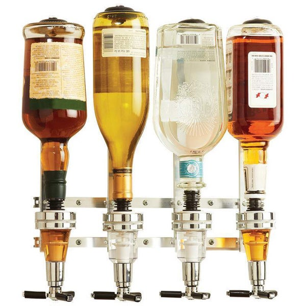 Wyndham House 4-bottle Liquor Dispenser/ Wall Cabinet Mounting
