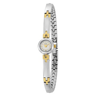 Bulova Women's Petite Two-Tone Bracelet Watch
