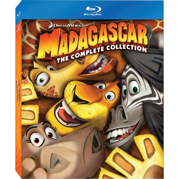 Madagascar: The Complete Collection (Blu-ray Disc) 11709345