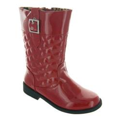 Girls' Laura Ashley LA13214A Red Patent
