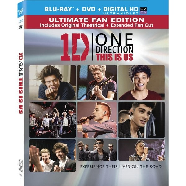 One Direction: This Is Us (Blu-ray/DVD) 11709724