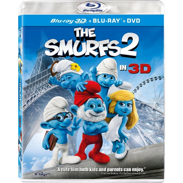 The Smurfs 2 3D (Blu-ray/DVD) 11709805
