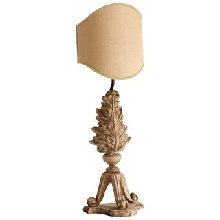 Cyan Design 'Reseda' 40-inch Sutherland Buff Tripod Wood Table Lamp