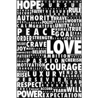 Maxwell Dickson 'Words Speak' Canvas Wall Art
