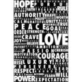 Maxwell Dickson 'Words Speak' Canvas Wall Art