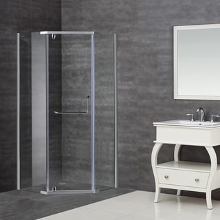 Aston 36 x 36 8mm Neo-angle Glass Shower Enclosure