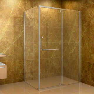 Aston Clear 48 x 35-inch 10mm Glass Shower Enclosure