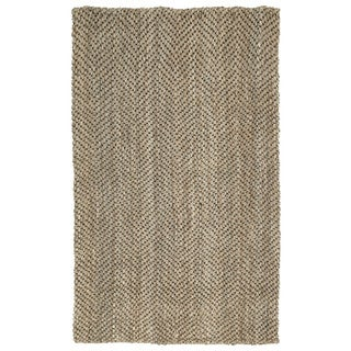 Napa Natural Chevron Handmade Jute Rug (1'8 x 2'6)