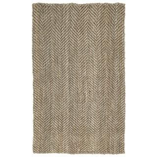Napa Natural Chevron Handmade Jute Rug (5'0 x 8'0)