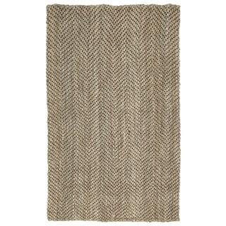 Napa Natural Chevron Handmade Jute Rug (8'0 x 10'0)
