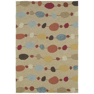 Seaside Partytime Multi Indoor/ Outdoor Rug (10' x 14')