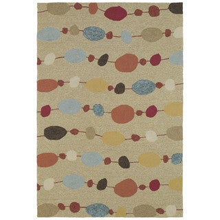 Seaside Partytime Multi Indoor/ Outdoor Rug (2' x 3')