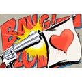 Maxwell Dickson 'Love Gun' Pop Art Canvas Wall Art