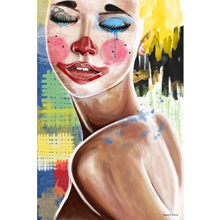 Maxwell Dickson 'Tears of a Clown' Canvas Wall Art