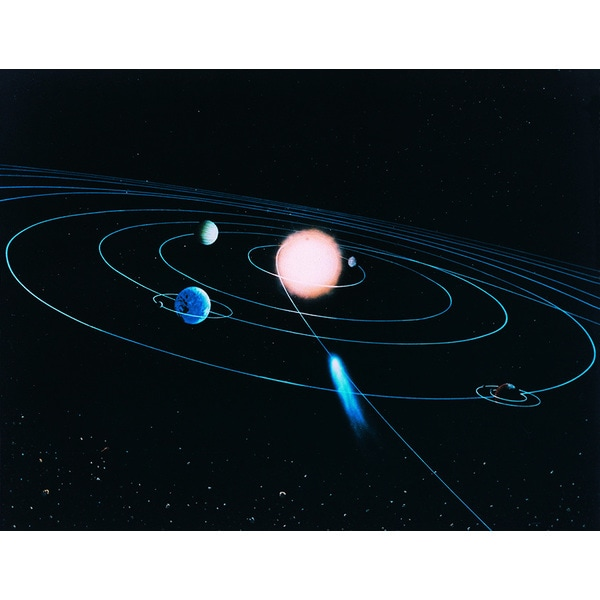 'The World of the Inner Solar System' Photography Print Canvas Wall Art