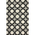 nuLOOM Handmade Indoor/ Outdoor Moroccan Star Trellis Coffee Rug (7'6 x 9'6)