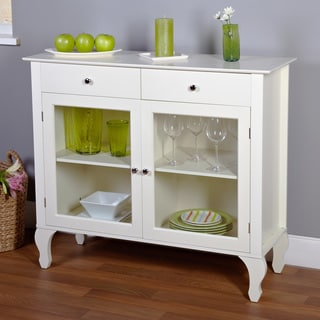Simple Living Layla Antique White Buffet