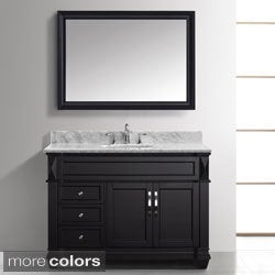 Virtu USA Victoria 48-inch Single Sink Bathroom Vanity Set