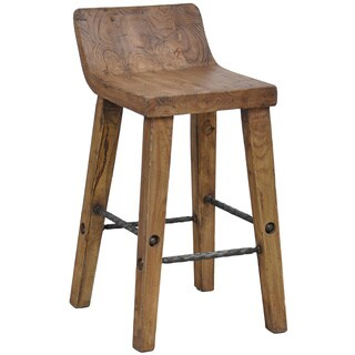 Tam 24 Inch Low Back Counter Stool Overstock Shopping
