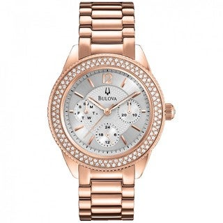 Bulova Women's Rose-gold Watch