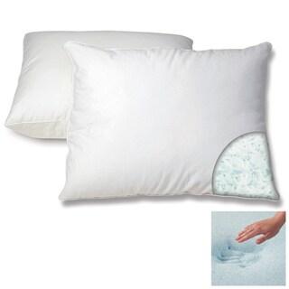 Dream Form Gel Memory Foam Cluster Pillow (1 or 2-Pack)