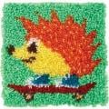 Wonderart Latch Hook Kit 12 X12 - Hedgehog