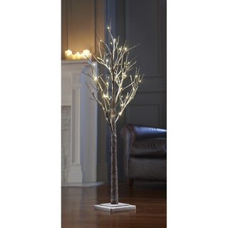 Sarah Peyton 4ft Decorative LED Snow Tree