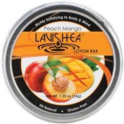Lavishea Lotion Bar 1.25 Ounces - Peach Mango