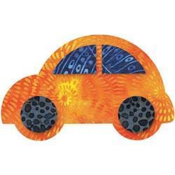 Go! Fabric Cutting Die - Cute Car -5-1/2 X3-3/8