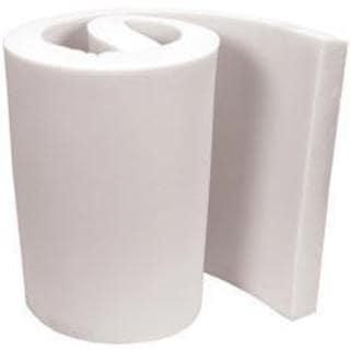 Extra High Density Urethane Foam 2 X18 X82 - White FOB:MI