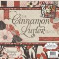 Cinnamon Luster Paper Stack 12 X12 48/Sheets - 24 Designs/2 Each, 12 W/Glitter Or Gloss